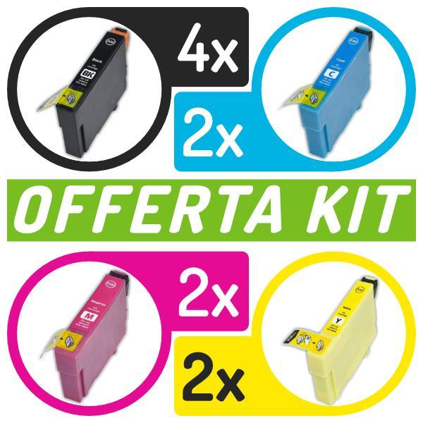 Kit cartucce compatibili con Epson<br>10 x n.603XL BK/C/M/Y
